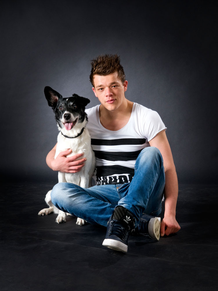 Niestadt-fotografie-Schoonhoven-studio-potret-met-hond