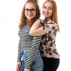Niestadt-fotografie-Schoonhoven-studio-shoot-van-twee-tiener-zussen